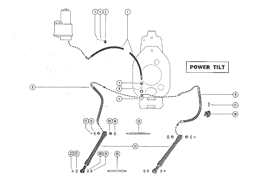 1967 Mercruiser Gimbal Parts Diagram. Harness. Auto Wiring