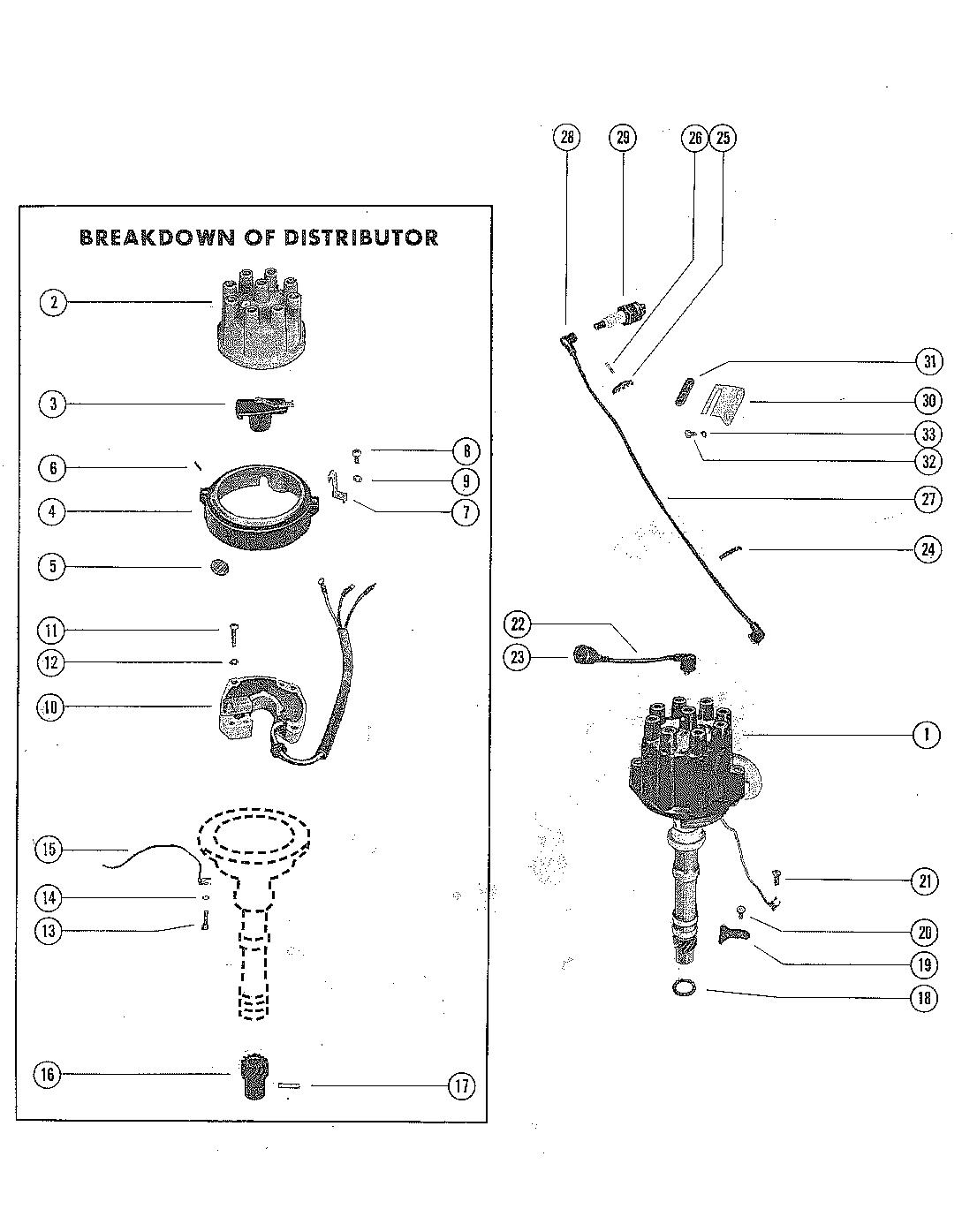 Каталог запчастей MERCRUISER остальные 325 GM 427 V-8 1969