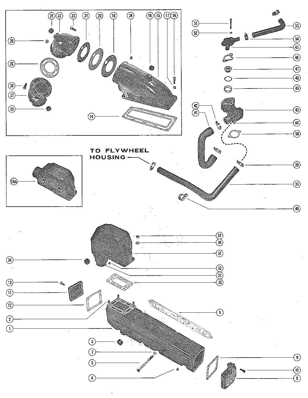 Каталог запчастей MERCRUISER остальные 325 MIE GM 427 V-8