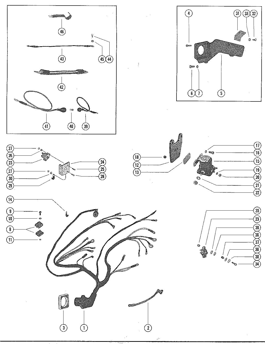 Каталог запчастей MERCRUISER остальные 215 (4 BBL.) FORD