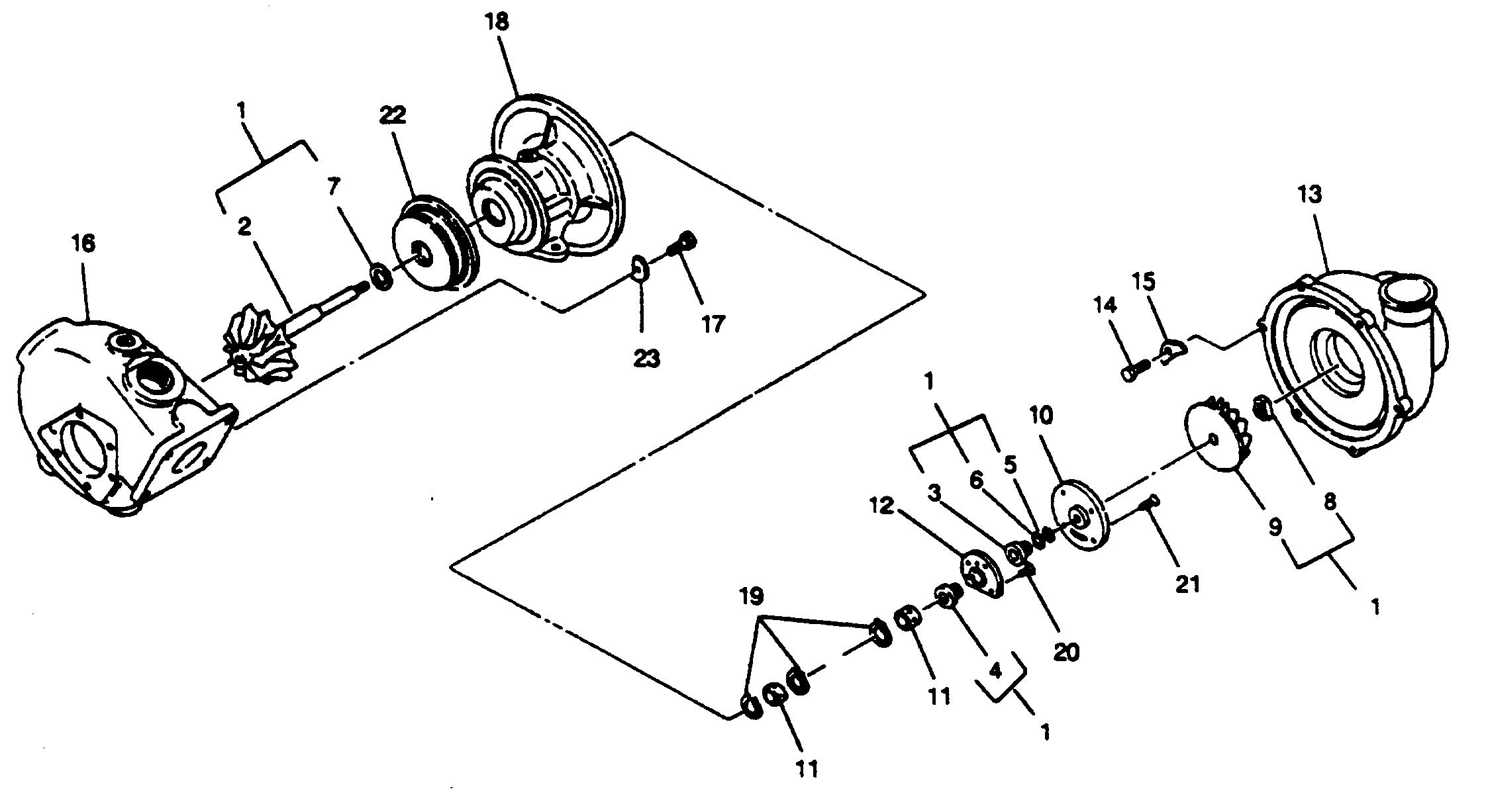 Mercruiser Wo4cti 210 Hp