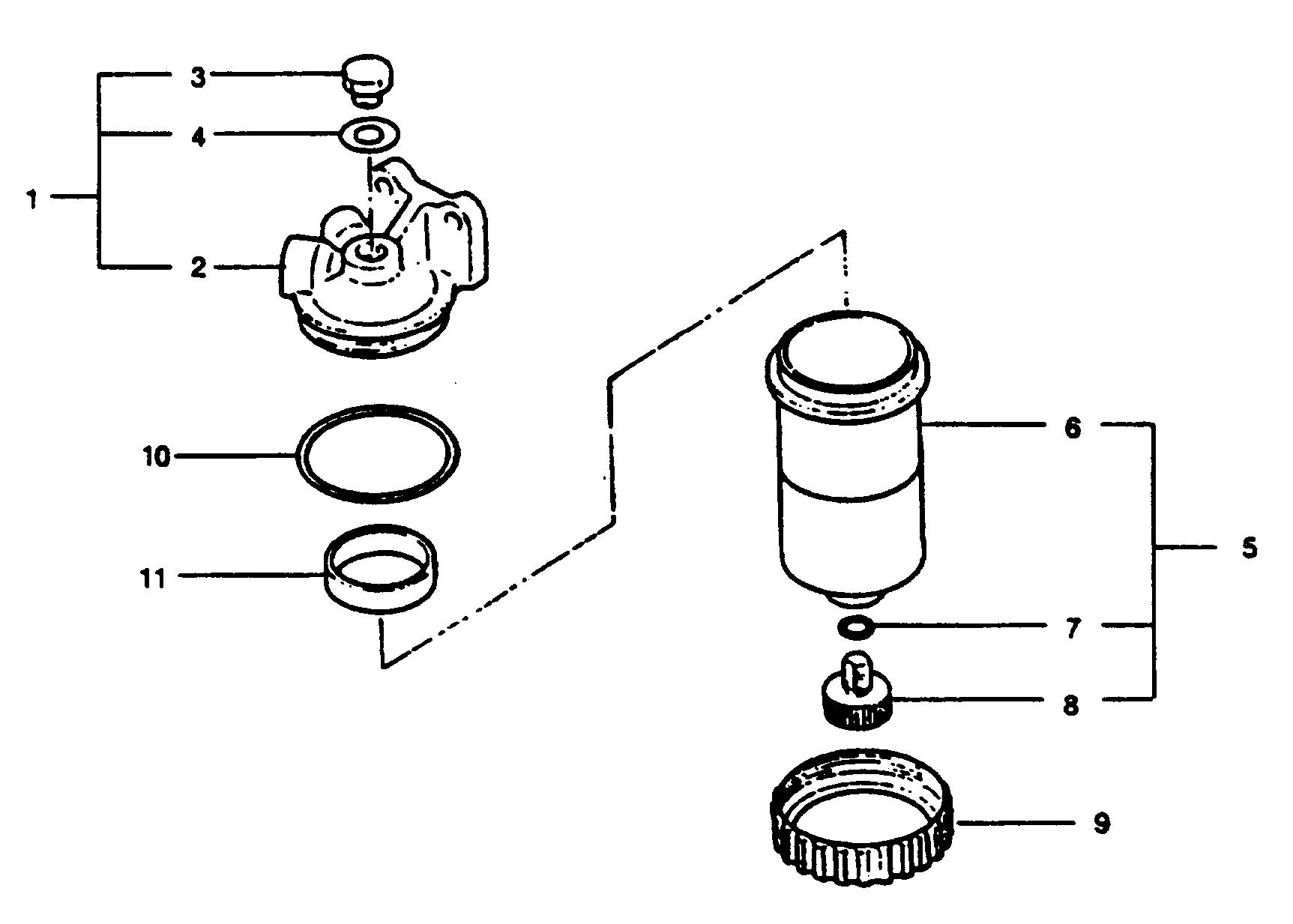 Каталог запчастей MERCRUISER остальные WO6DTI (250 HP