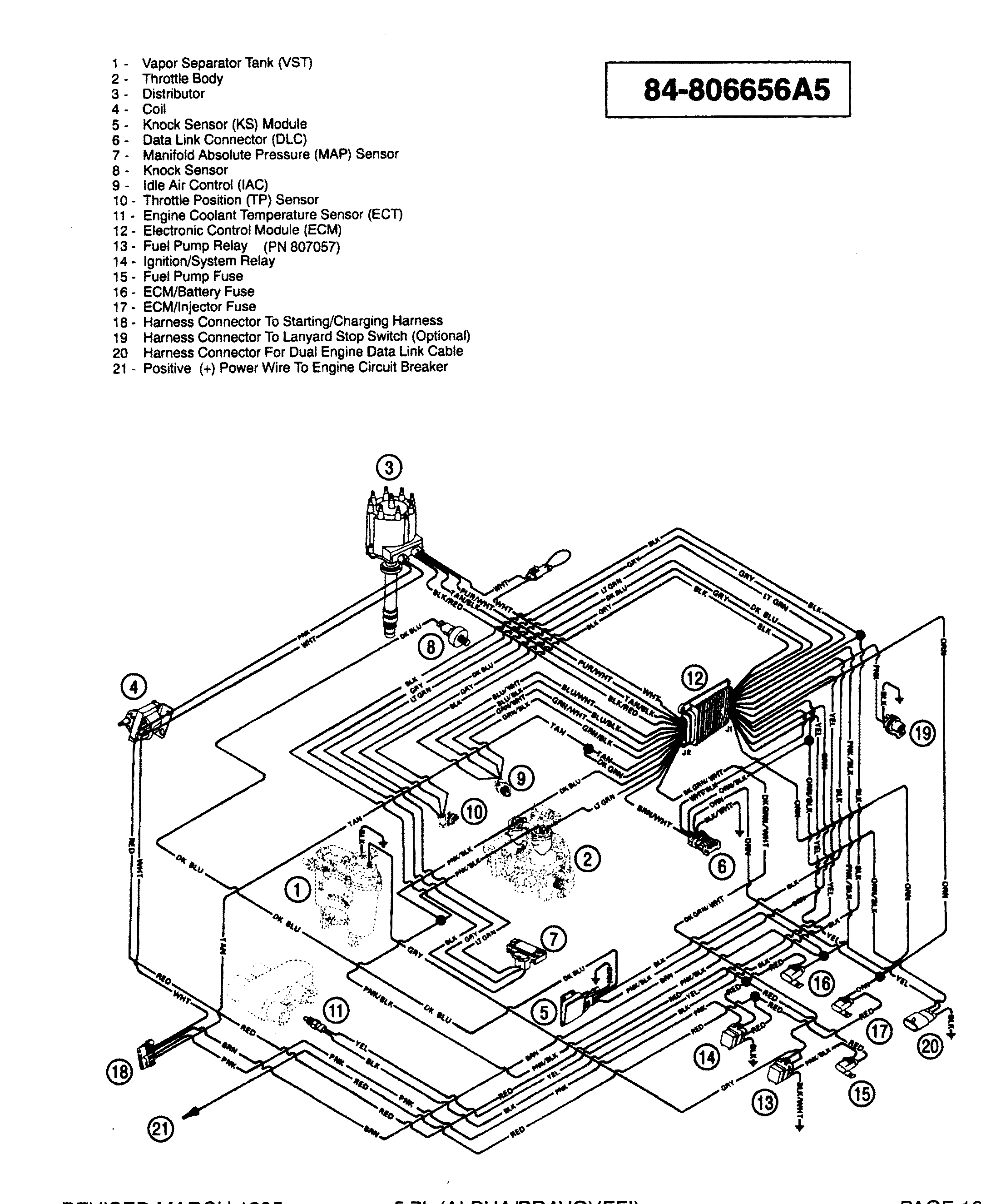 1982 Mercruiser 5 7 Wiring Diagram : 34 Wiring Diagram