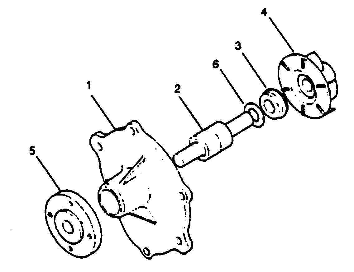 Каталог запчастей MERCRUISER остальные WO4CTA (150 HP