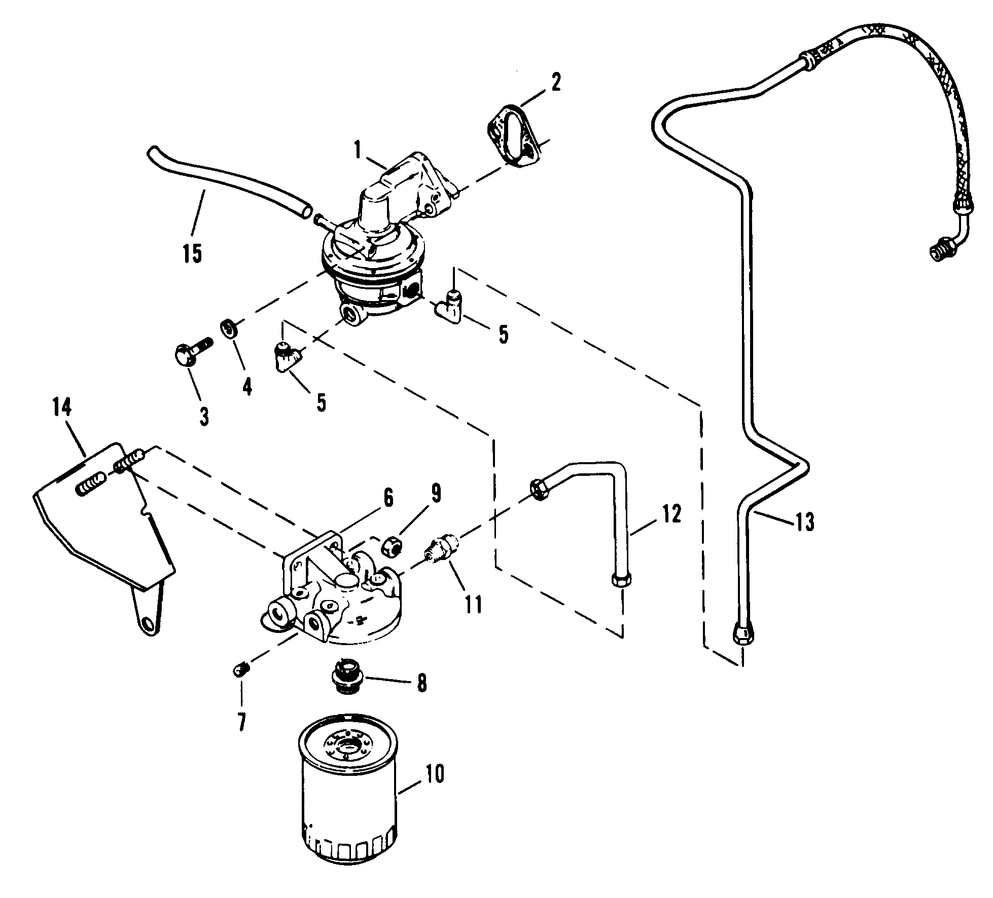 hight resolution of fuel pump and fuel filter