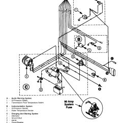 Mercruiser Alternator Wiring Diagram Nissan 350z Radio Каталог запчастей остальные 350 Mag Efi Ski
