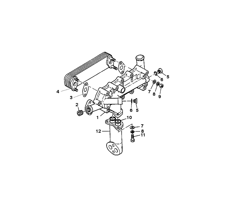 Каталог запчастей MERCRUISER остальные EH700 (175/220HP