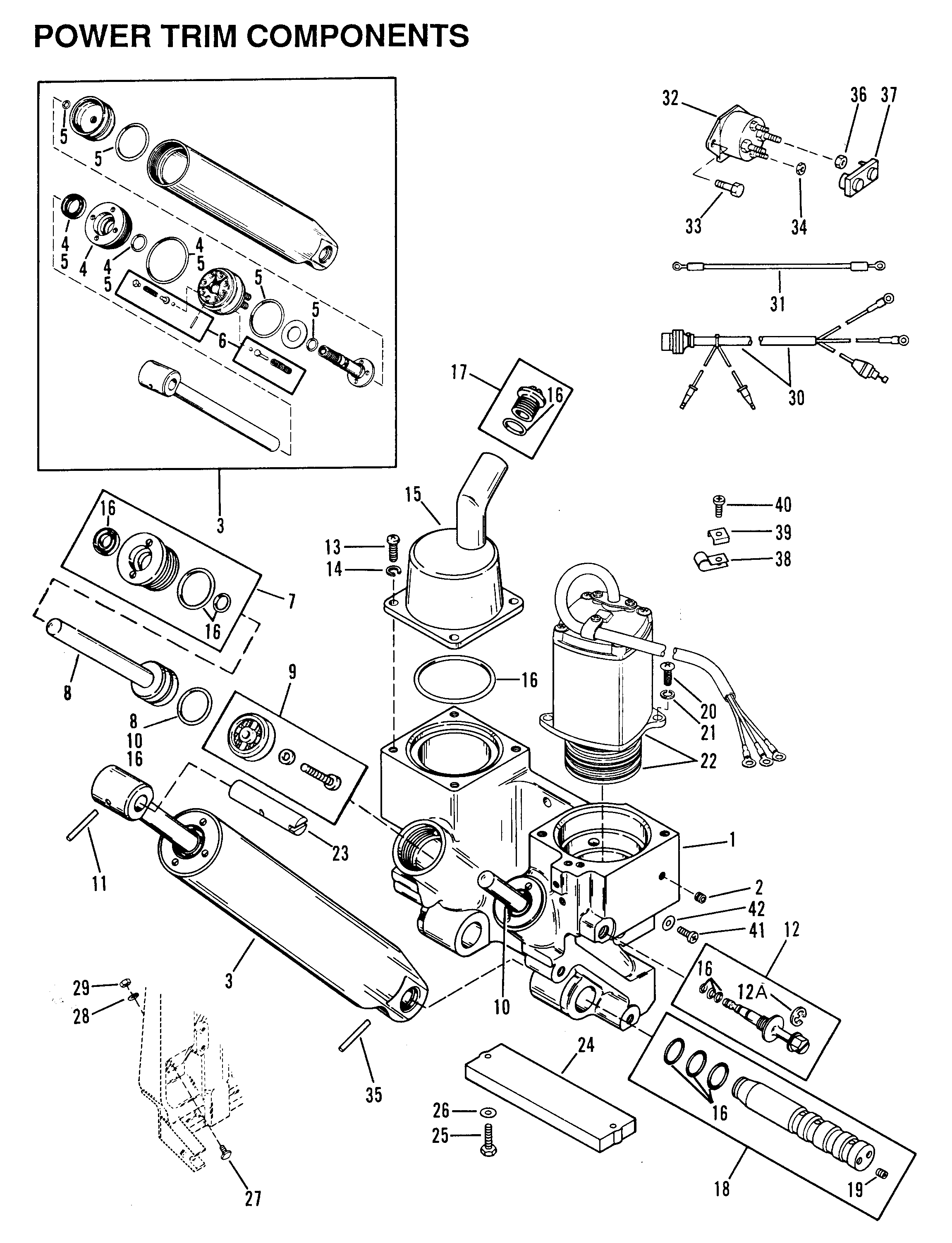 90 Hp Mercury Ignition Switch Wiring Diagram