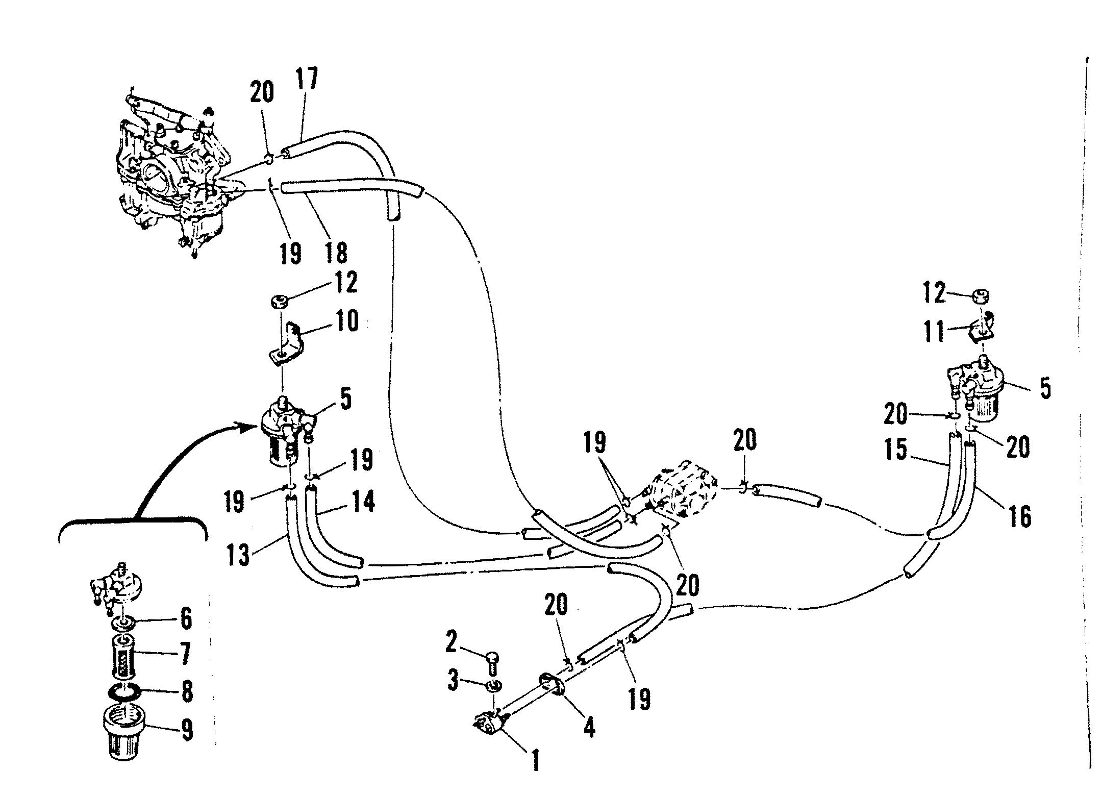 Каталог запчастей MARINER K25 6A4-300101 AND UP (ML