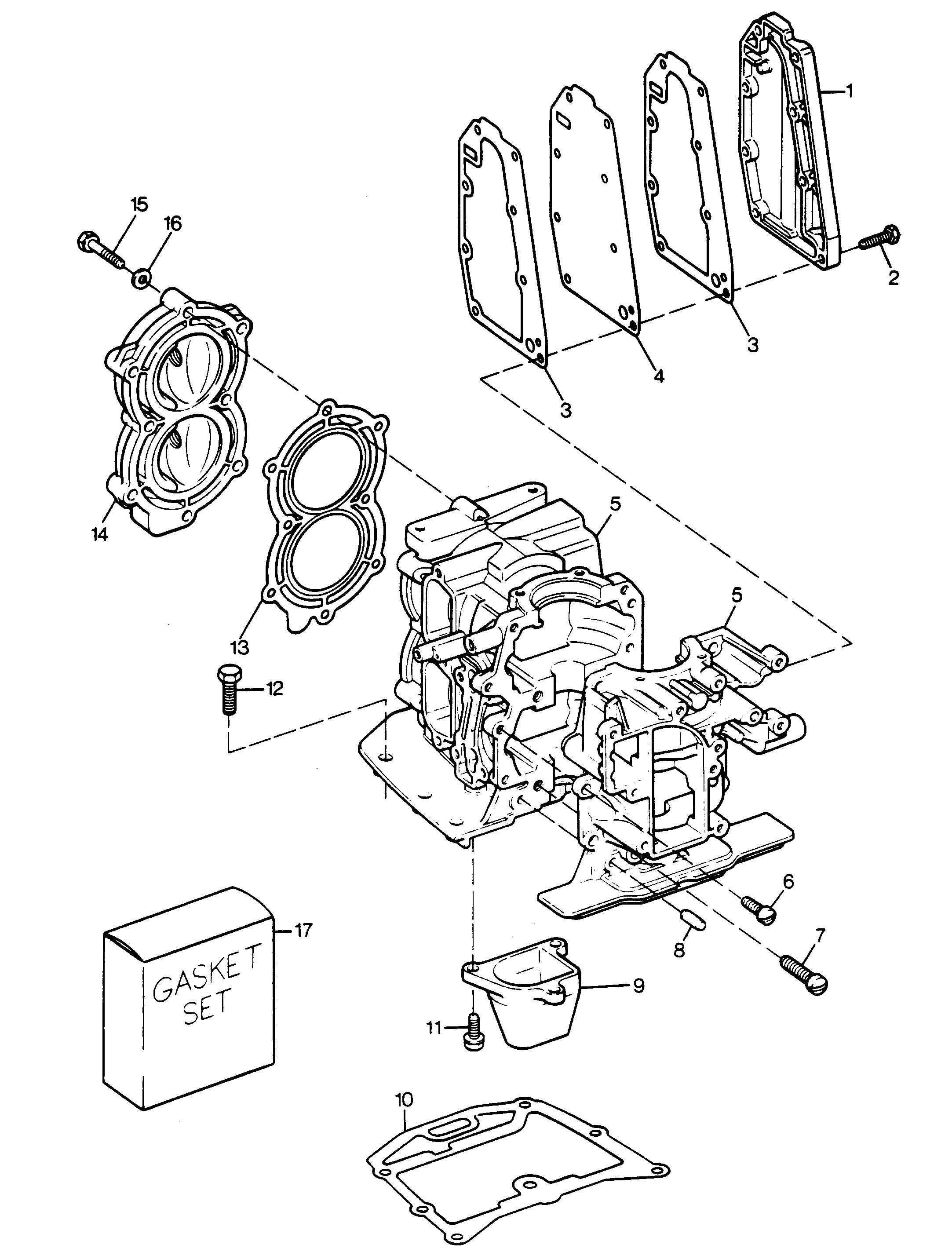Каталог запчастей SEARS 7.5 H.P. (1988) 225.581750