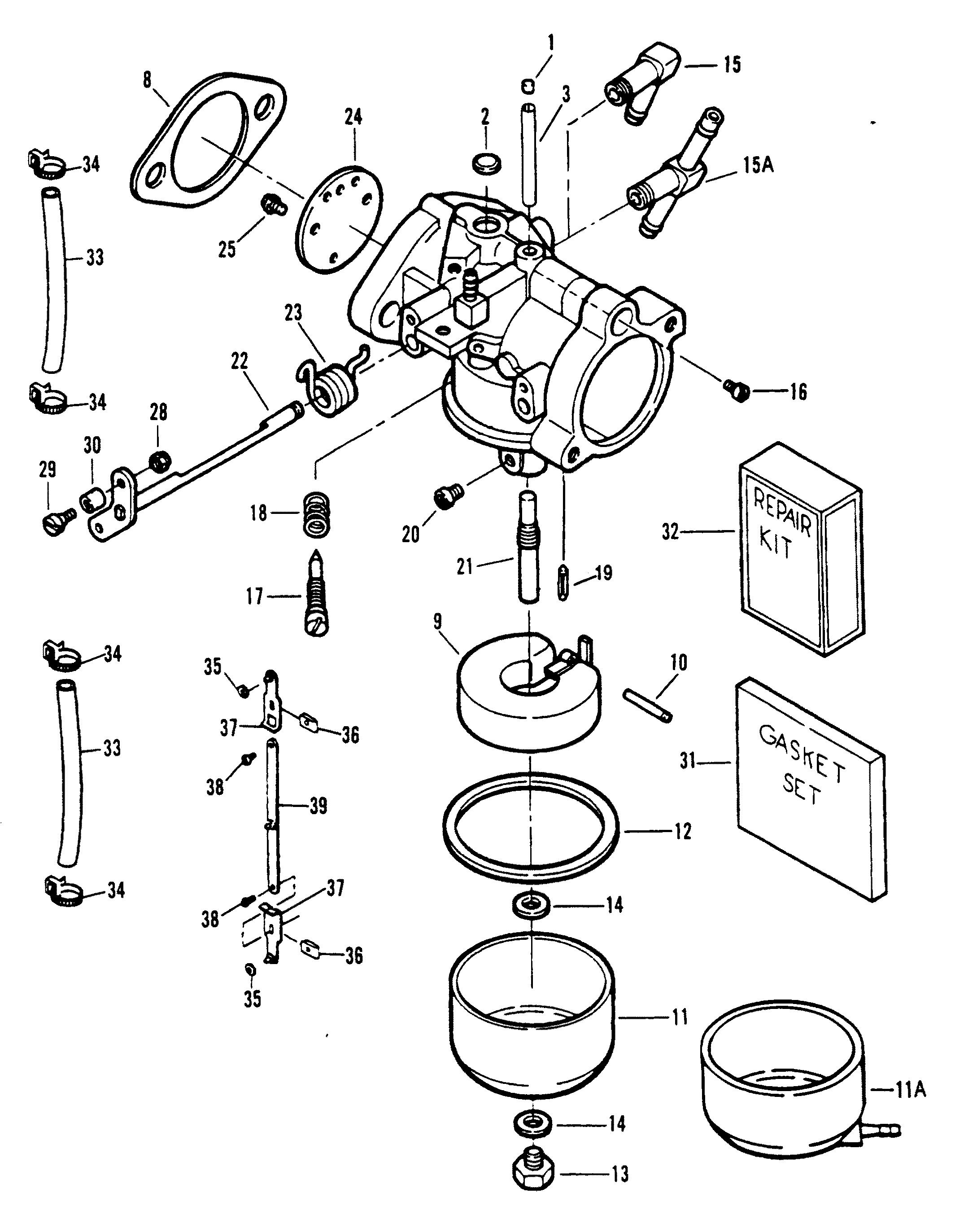 Каталог запчастей SPORTJET 90 (POWERHEAD) 1995 0E095088