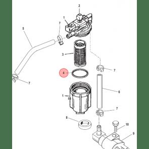 Packningar och Tätningar till mercury motor