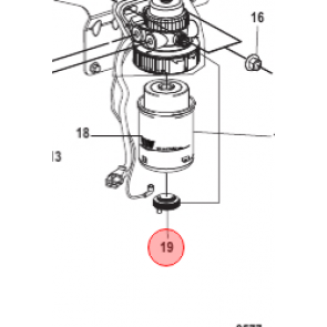Bränslefilter till mercury båtmotor quicksilver