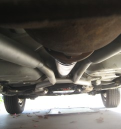 dual exhaust on 1996 grand marquis x pipe vs h pipe dual  [ 2816 x 2112 Pixel ]