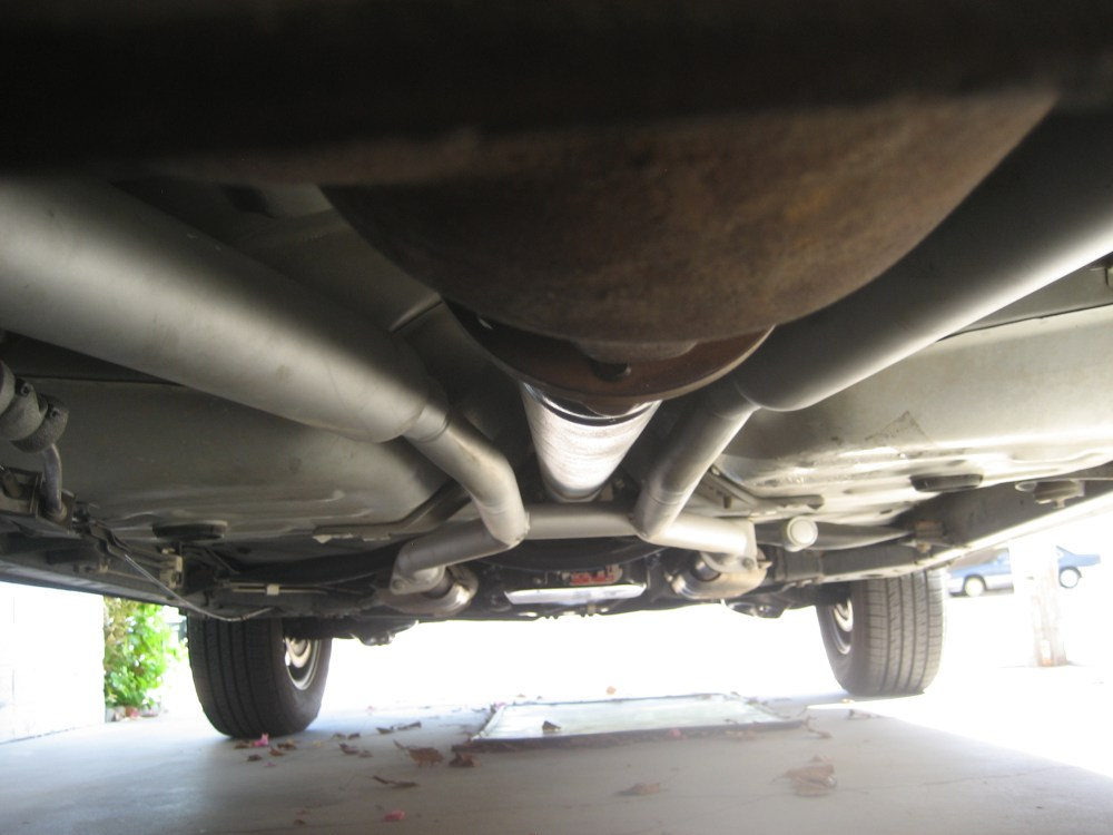 medium resolution of dual exhaust on 1996 grand marquis x pipe vs h pipe dual