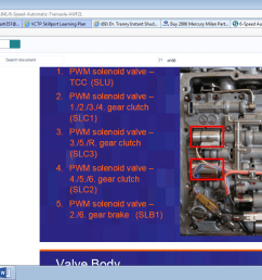 2006 mercury milan trans shift to limp mode valve body 1 png  [ 1366 x 768 Pixel ]