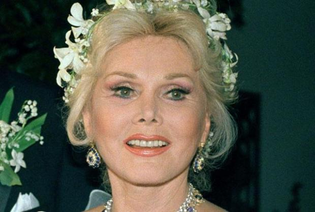 Actress Zsa Zsa Gabor is shown Los Angeles on August 15, 1986. Zsa Zsa Gabor's publicist says the actress is being returned to a hospital because of complications in her recuperation from a broken hip. (AP Photo)