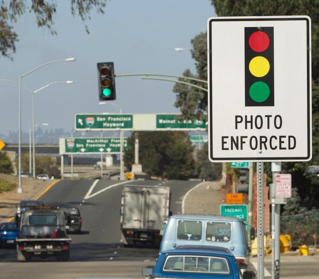 Red Light Ticket California