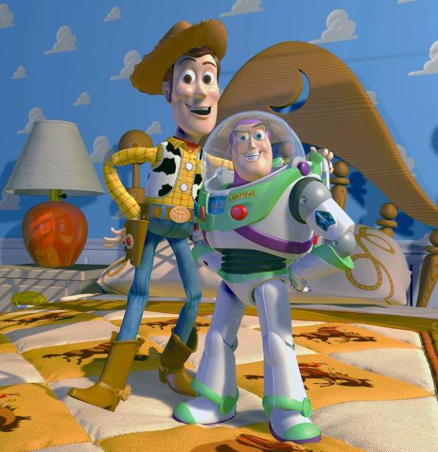 "This film publicity image released by Disney Pixar shows characters Woody, left, and Buzz Lightyear, from the animated film ""Toy Story."" Disney Pixar announced Thursday, Nov. 6, 2014, it plans to produce Toy Story 4. Pixar chief John Lasseter will direct the film, which is set for release in June of 2017. (AP Photo/Disney Pixar) ** NO SALES **"