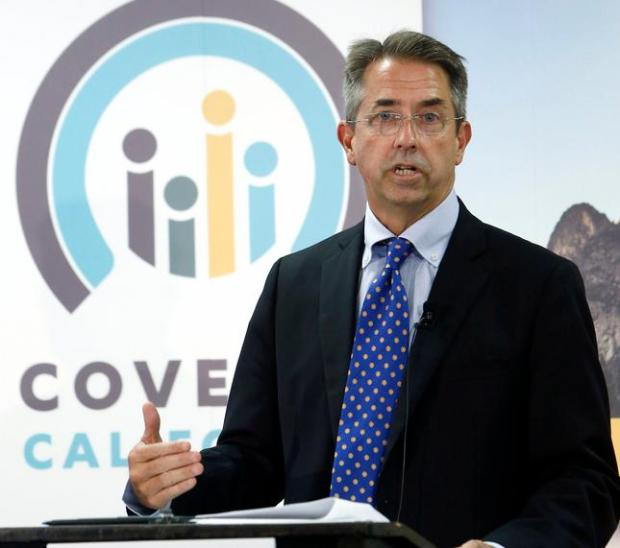 Peter Lee, executive director of Covered California, 2013. (Associated Press)