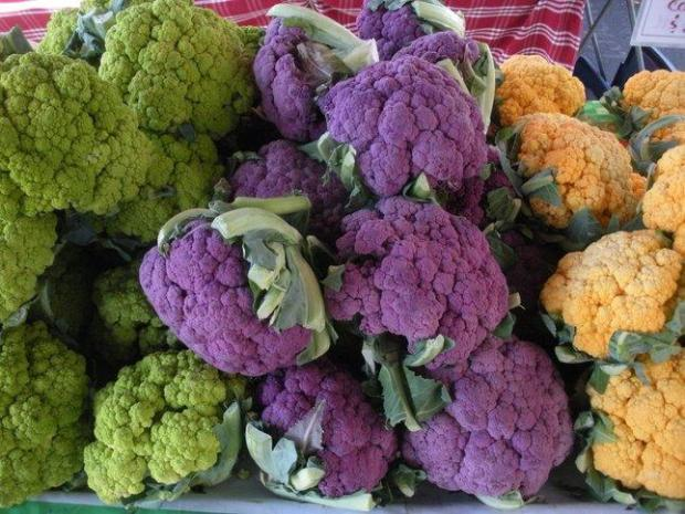 Learn to grow colorful cauliflower and other vegetables at the Santa Clara Master Gardeners' Fall Harvest Festival.