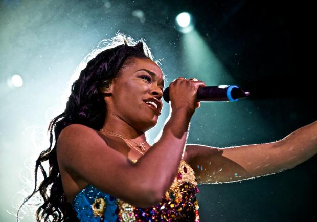 Azealia Banks performs at Irving Plaza on Monday, May 11, 2015, in New York.
