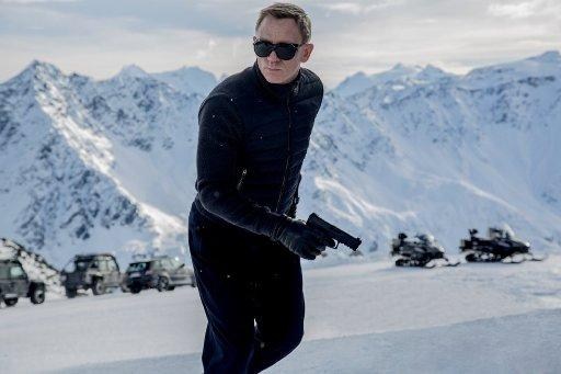"Daniel Craig reprises his role as James Bond in ""Spectre."""