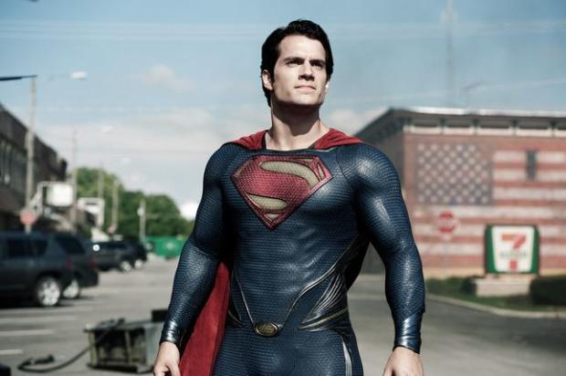 "In this image released by Warner Bros. Pictures, Henry Cavill is shown as Superman in a scene from the film, ""Man of Steel."" (AP Photo/Warner Bros. Pictures/Legendary Pictures, Clay Enos, File)"