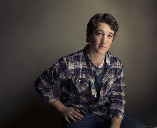 Miles Teller poses for a portrait during the 2013 Sundance Film Festival at the Fender Music Lodge, on Friday, Jan., 18, 2013 in Park City, Utah.