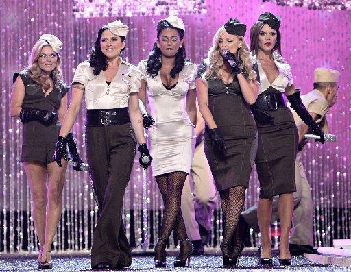 The Spice Girls perform at The Victoria's Secret Fashion Show in 2007.