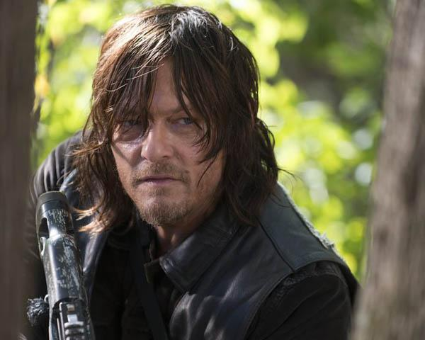 "Norman Reedus as Daryl in ""The Walking Dead.""--"