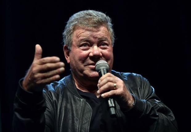 William Shatner speaks during the Silicon Valley Comic Con in San Jose, California on March 18, 2016. (AFP PHOTO / JOSH EDELSONJOSH EDELSON/AFP/Getty Images)