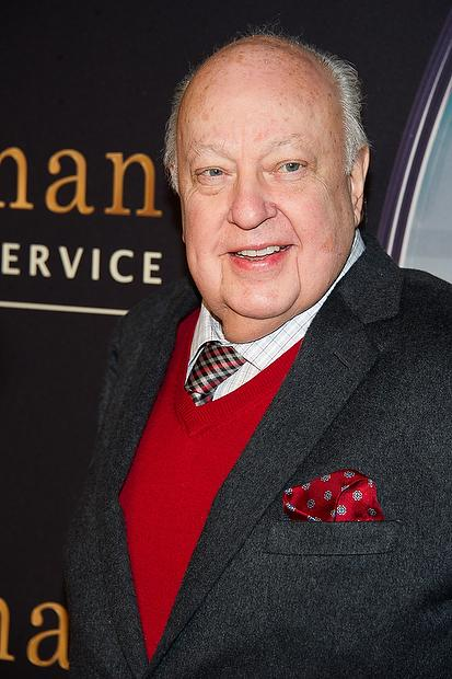 "Roger Ailes attends a special screening of ""Kingsman: The Secret Service"" in New York on Feb. 9, 2015."