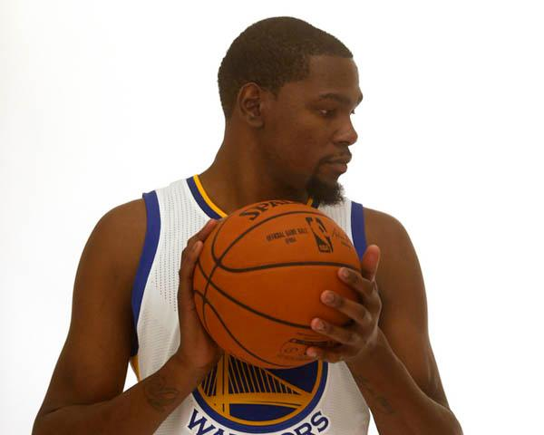 The Golden State Warriors' Kevin Durant is photographed on Thursday, July 7, 2016, in Oakland, Calif. (Aric Crabb/Bay Area News Group)