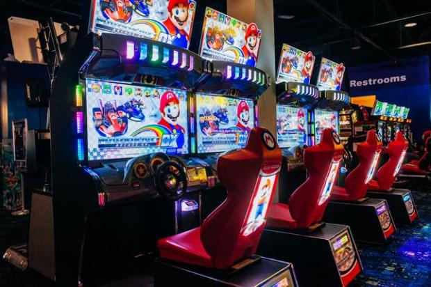Video games are among the features that will be available at Round 1, a new arcade opening in August at Sunvalley mall in Concord.