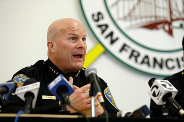 Greg Suhr's hiring by the Warriors was followed by intense scrutiny, leading to his dismissal. (AP Photo/Eric Risberg, File)
