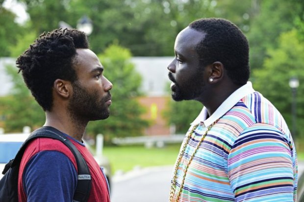 "Donald Glover and Bryan Tyree Henry play cousins who aren't always on the same page in the new FX comedy ""Atlanta."" Source: FX"