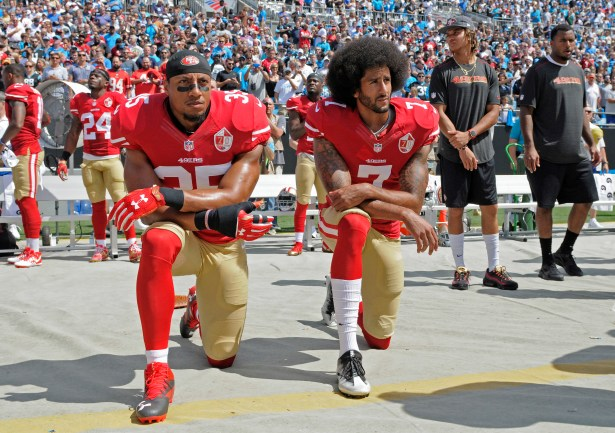 Image result for eric reid and kaepernick
