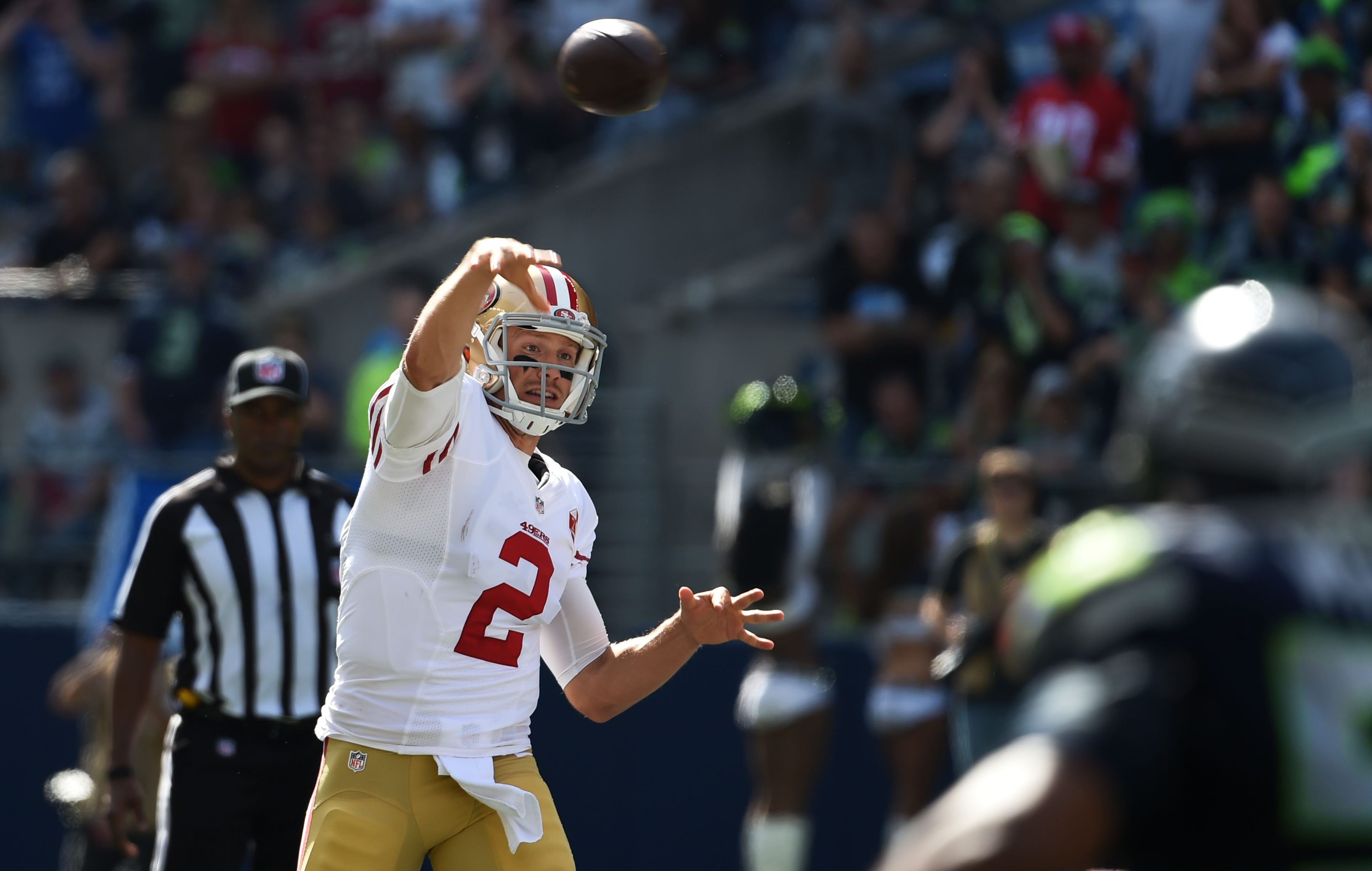 Russell Wilson: Seahawks believe Wilson has a sprained MCL
