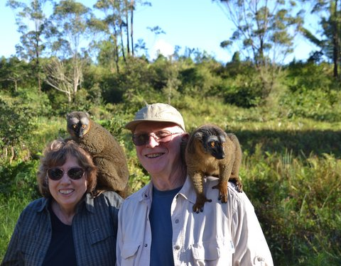 Courtesy of Dave Hardbarger MADAGASCAR: Alameda residents Anna Rossi and Dave Hardbarger returned recently from a 10 day trip through Madagascar.