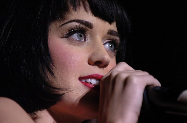 Katy Perry performs at the Fillmore in San Francisco, Calif. on Wednesday, January 28, 2009. (Dan Honda/Staff)