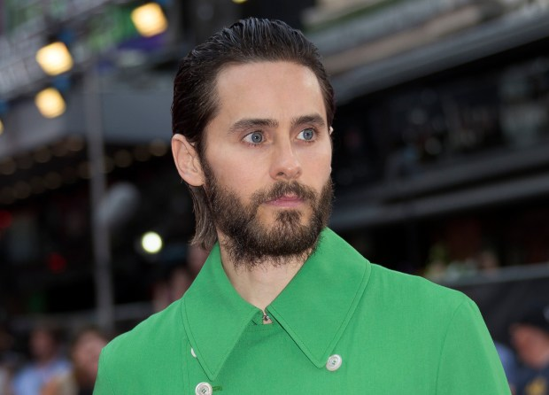 FILE - In this Aug. 3, 2016 file photo, actor Jared Leto poses for photographers at the European Premiere of Suicide Squad, at a central London cinema. Leto's representative confirmed on Sept. 20, 2016, that Leto will star as Andy Warhol in an upcoming biopic about the late pop art icon. (AP Photo/Joel Ryan, File)