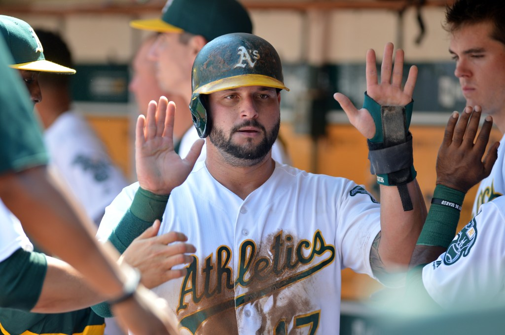 Yonder Alonso Has Taken Over DJ Duties In The As