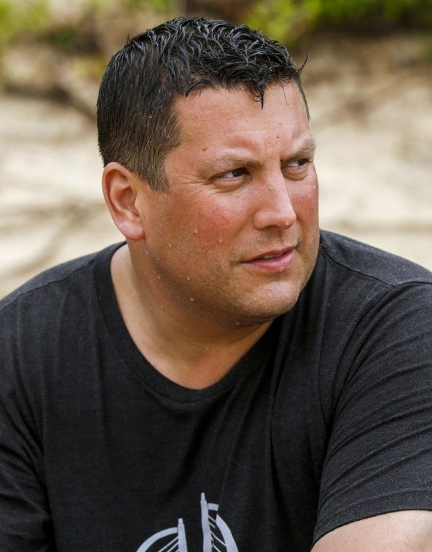 Bret LaBelle on SURVIVOR: Millennials vs. Gen. X, when the Emmy Award-winning series returns for its 33rd season with a special 90-minute premiere, Wednesday, Sept. 21 (8:00-9:30 PM, ET/PT) on the CBS Television Network. Photo: Robert Voets/CBS Entertainment Ì?å©2016 CBS Broadcasting, Inc. All Rights Reserved.