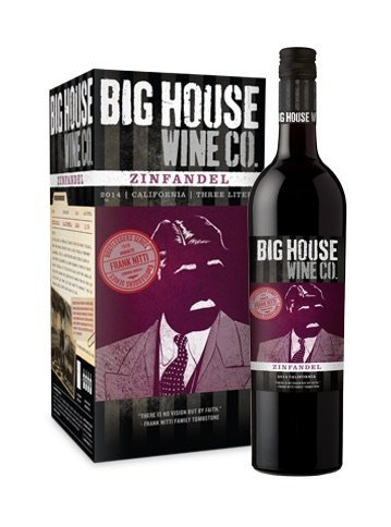Halloween wine: Big House Zinfandel. Photo credit: Courtesy of The Wine Group