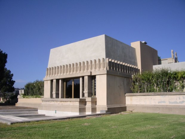Architecture buffs should head to Los Angeles' Los Feliz neighborhood where the Mayan-inspired Ennis House and Hollyhock House, pictured, was designed by that towering figure of the modern era, Frank Lloyd Wright. (Photo: Discover Los Angeles)