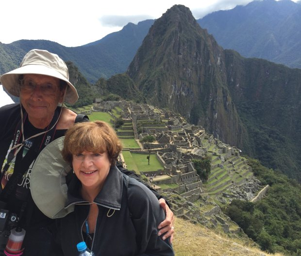 Courtesy of the Nathan Family *PERU:* On their recent two-week trip, Alamo residents Larry and Ruthie Nathan visited Ecuador's Galapagos Islands and Peru's iconic Machu Picchu.