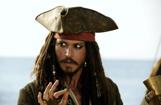 "Johnny Depp stars in ""Pirates of the Caribbean: Dead Man's Chest."" (Handout/MCT)"