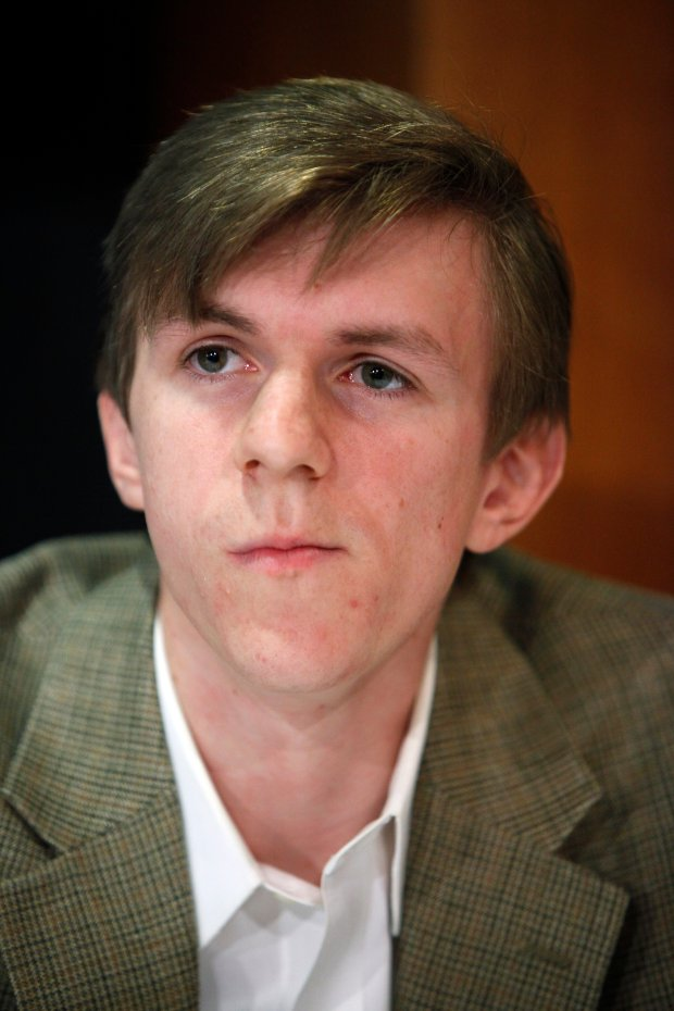 James O'Keefe, 2009. (AP Photo/Haraz N. Ghanbari, File)