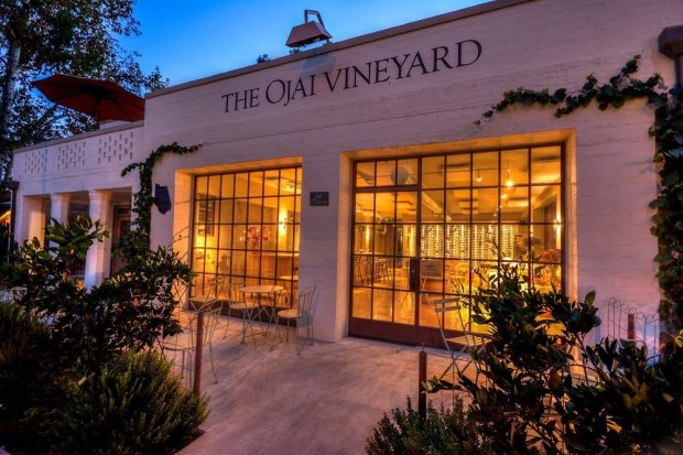The Ojai Vineyard tasting room in downtown Ojai offers tastings during the week, but on weekend evenings, food trucks pull up and the venue takes on the feel of a wine bar. (Photo: Ojai Vineyard)